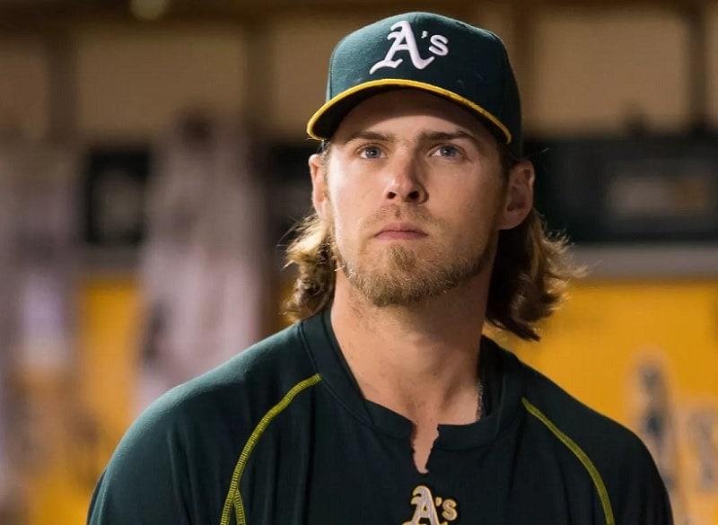 Beard style by Baseball Star Josh Reddick