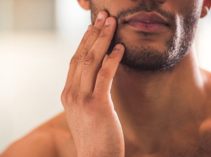 black men beard care