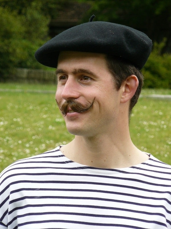 royal french mustache