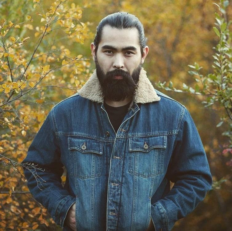 chinese full beard