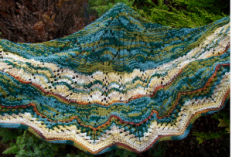 The Forest Floor Shawl