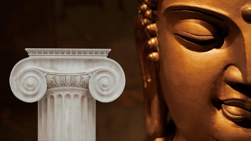 Ancient Greeks Buddhist