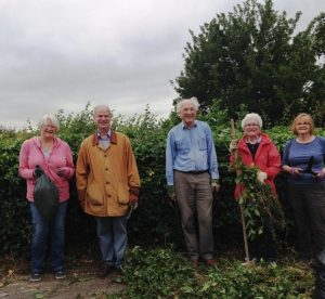 Friends of Bloomfield Green looking after the open space