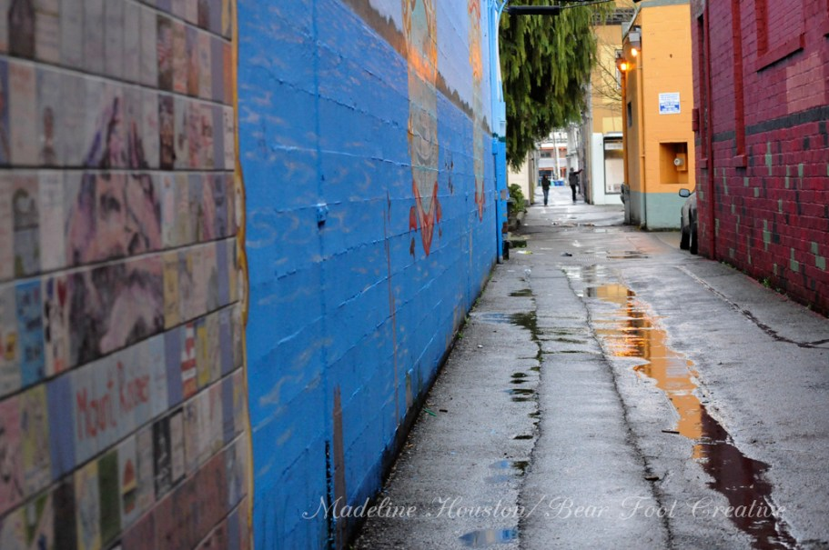 Oly Alley by Madeline Houston