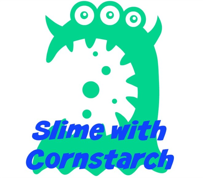 slime with cornstarch