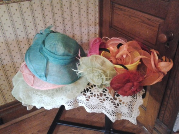 Fun Tea Hats that also came from Mom Select