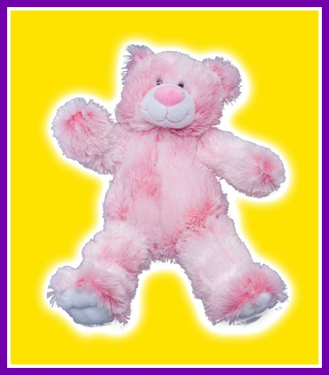 Cotton Candy Stuff a Plush Party Kit for 6 from Bear Haven Boutique