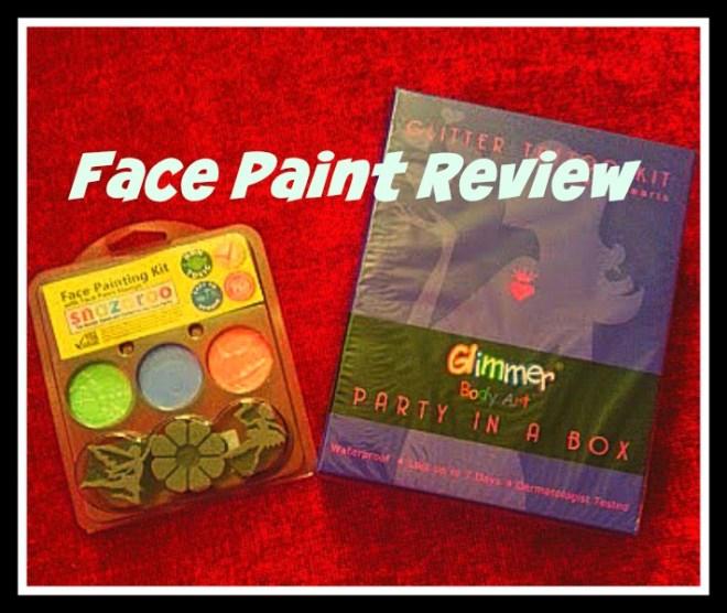 face paint review