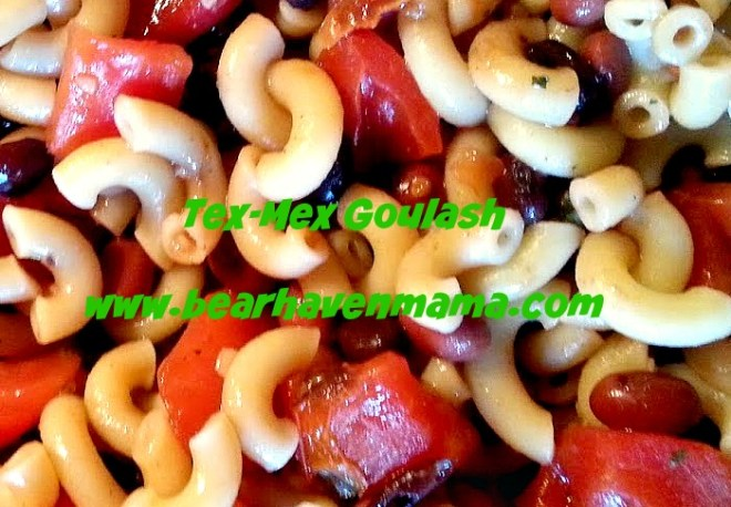 Easy to make Tex-Mex Goulash