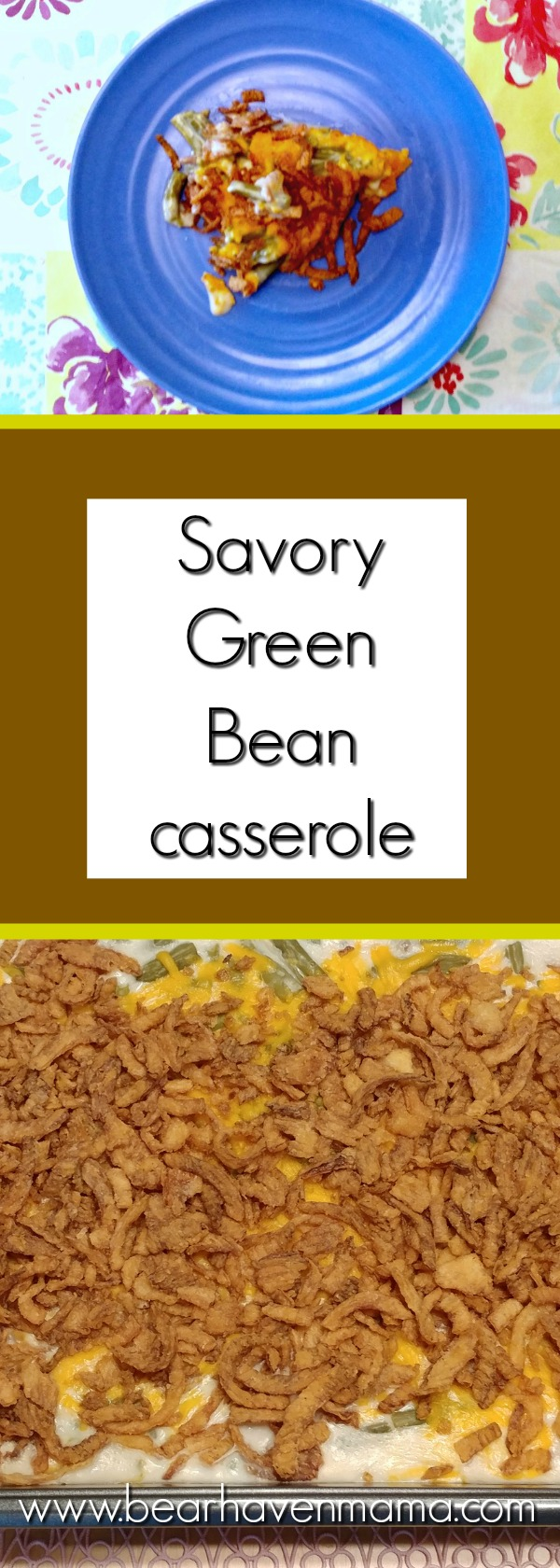 This cheesy version of green bean casserole might sound strange, but your family will love this new take on an old favorite!