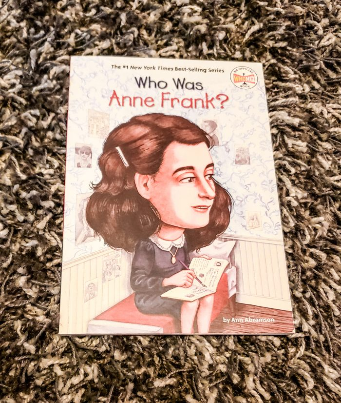 Who Was...Anne Frank from Library and Educational Services LLC is one of the many books in the Who Was series available for homeschool supplements