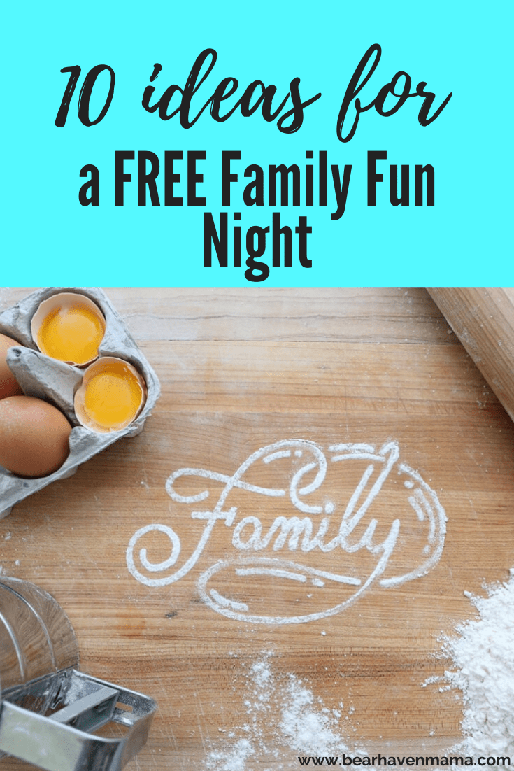 Want to keep family fun night fresh? Then here are 10 great ideas for a FREE family fun night (or pretty close to it) that are more than just a movie!