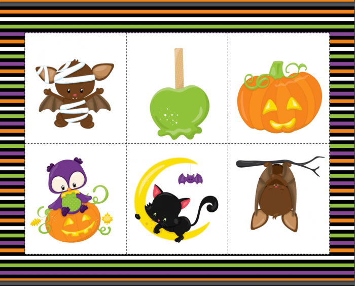 Halloween Spooky Story Game activity for kids, great for kids Halloween Party game