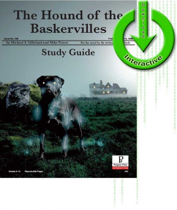 The Hound of Baskervilles study guide for homeschoolers from Progeny Press review