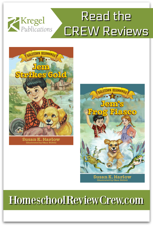 Book review of Susan K. Marlow's Goldtown Beginnings books for ages 6-9.