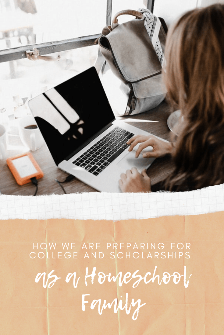 Tips for planning for college as a homeschool family and info about researching financial aid and scholarships, such as the Hallie Gay Walden Bagley Scholarship