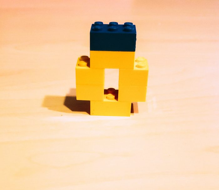 Valentine's Lego Challenge ring