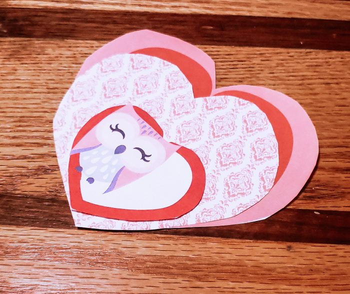 Have fun with your kids and work together to create a very unique 3-D Valentine Card!