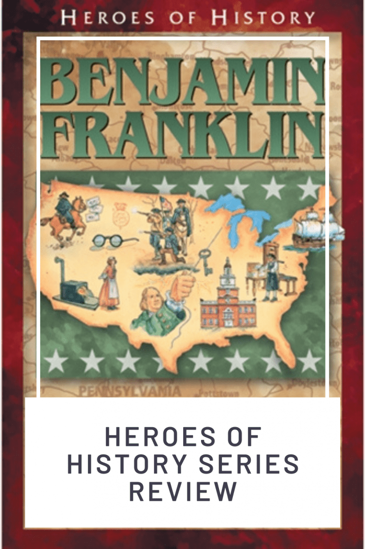 Bring history to life with the Heroes of History series byJanet & Geoff Benge. These books present history, geography, government, and science in a unique way, and the tales of these inspirational people leave a lasting impression on children as they grow.