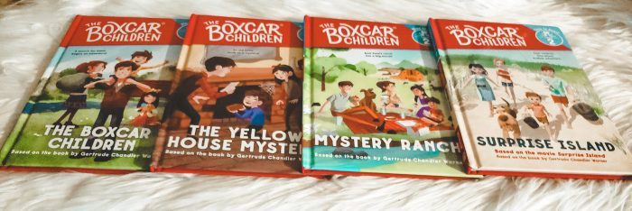 The Boxcar Children Early Reader is an excellent starter set of the first four stories from the iconic Boxcar Children series. The series is geared toward ages 5-7, grades K-2 and provide a natural bridge from picture books to chapter books.