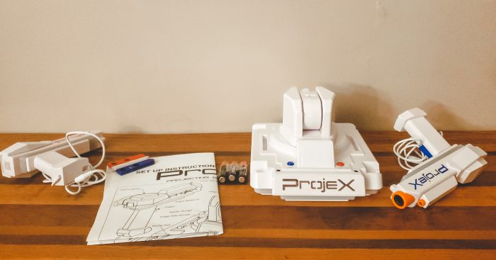 unboxing of ProjeX Projecting Game Arcade
