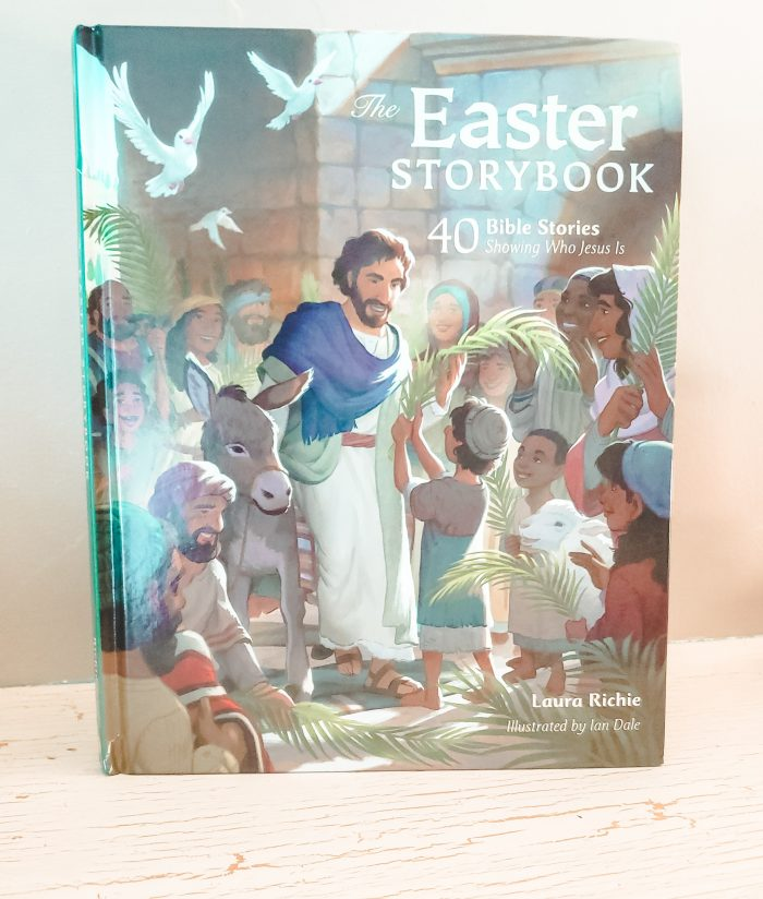 The Easter Storybook explains who Jesus is, what He did, and why His death and resurrection matter in a way children ages 4-8 can understand and remember.