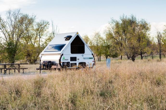 Get the Best for Your Road Trips With A Chalet A-Frame Camper 2