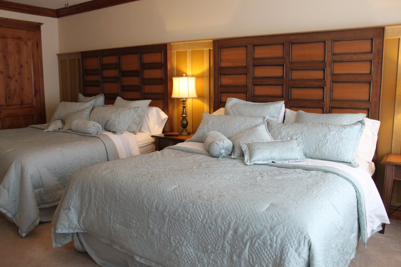 Suite #3 with two King Beds