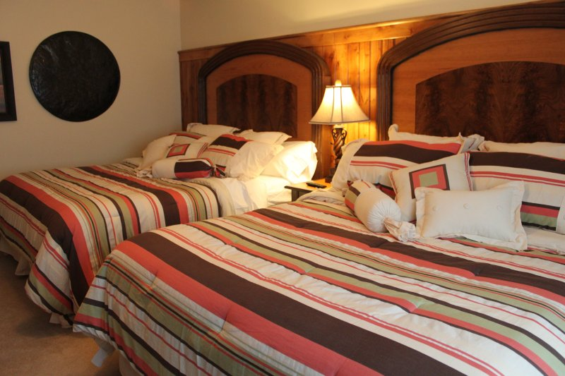 Suite #5 with two King beds