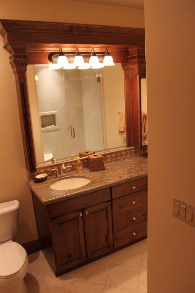 Suite #5 Bathroom
