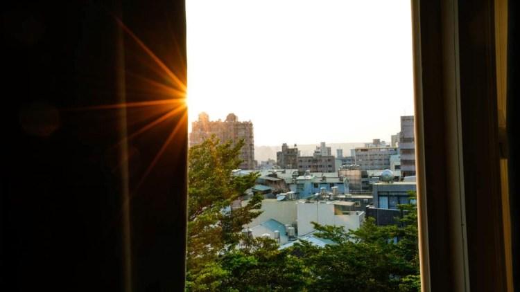 台中逢甲住宿-葉綠宿旅館 Green Hotel-房間走出去5分鐘就是逢甲夜市,好感人