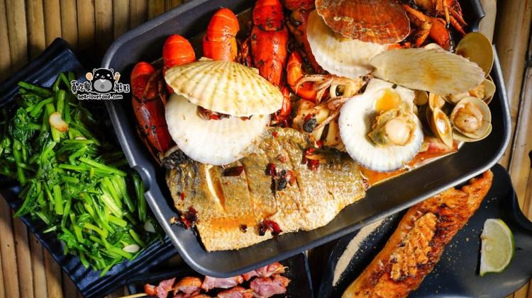 高雄苓雅區燒烤 巨鮮-現撈泰國蝦與活體小龍蝦,新鮮燒烤推薦