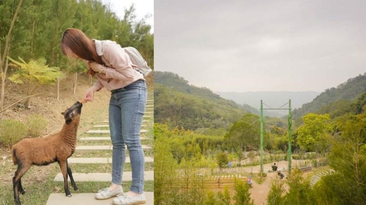 苗栗銅鑼景點 哈比丘-情侶約會盪高空鞦韆,親子旅行餵養小動物