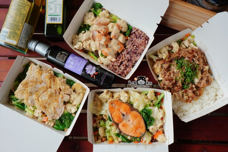 高雄左營區外帶美食 艾波廚房-瑞豐夜市附近營養豐富,減糖高纖豆腐飯