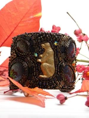 bracelet manchette ours