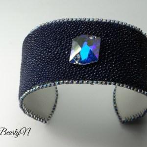 bracelet galuchat - BearlyN