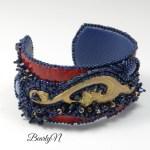 broderie perles bleues_BearlyN