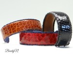 bracelet cuir de crocodile_BearlyN