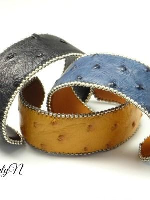 bracelets autruche_BearlyN