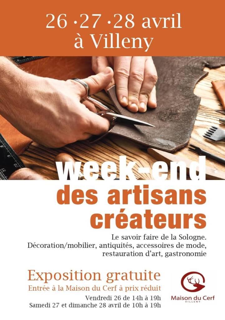 Flyer recto week-end artisans_BearlyN