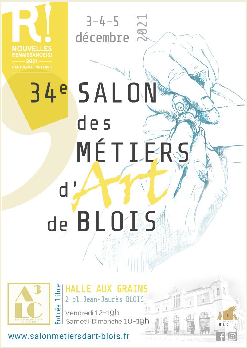 34ème Salon des Métiers d'Art de Blois-décembre 2021