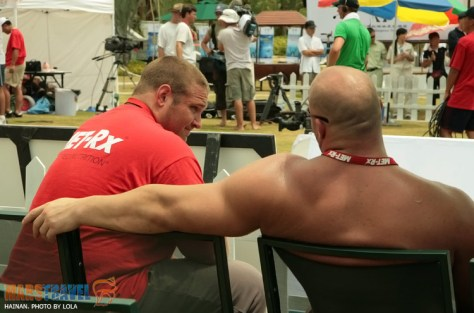Don Pope and Terry Hollands