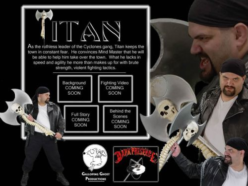 Titan of Dark Presence
