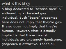 BearMythology's Disclaimer