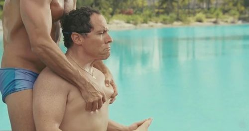 Jon Favreau couples retreat 06