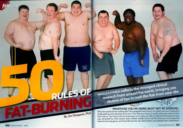 Muscle and Fitness chubs
