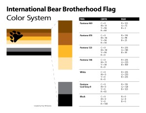 The Official Bear Flag Color System