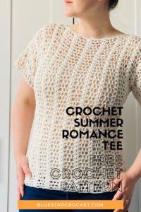 Crochet Lace T shirt