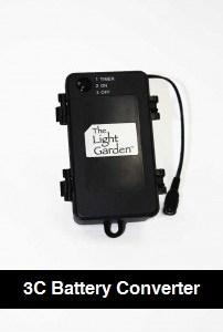 3C Battery Converter for 96 count LED models
