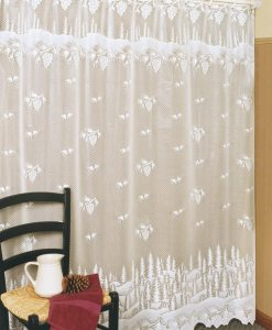 Pinecone Lace Shower Curtain